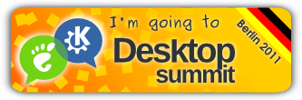 I'm going to the Desktop Summit 2011